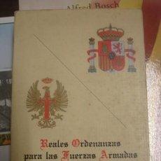 Militaria - REALES ORDENANZAS PARA LAS FUERZAS ARMADAS - REALES ORDENANZAS DEL EJERCITO DE TIERRA - 129506243