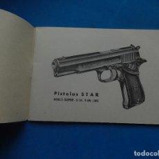 Militaria: MANUAL PISTOLA STAR. MODELO SUPER-S. CAL. 9MM. (380).. Lote 129737159