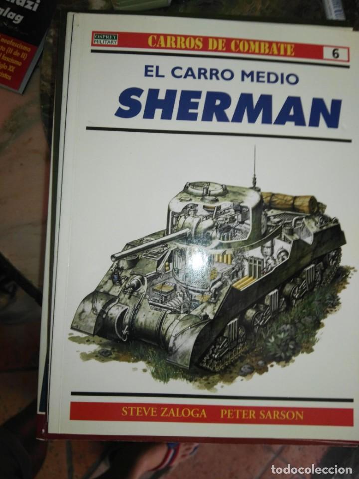 Militaria: osprey el carro medio sherman - Foto 1 - 129995071