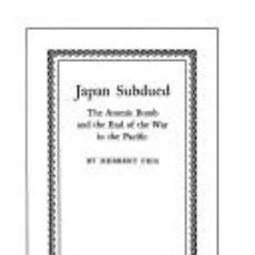 Militaria: JAPAN SUBDUED. Lote 130250370