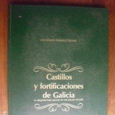 Militaria: 1985 CASTILLOS Y FORTIFICACIONES DE GALICIA SORALUCE BLOND. Lote 130274894