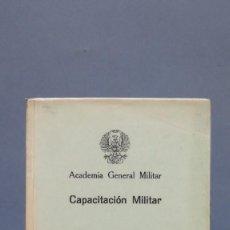 Militaria: ORGANIZACION MILITAR. ACADEMIA GENERAL MILITAR. Lote 130550282