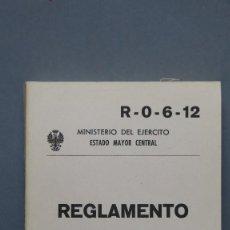 Militaria: REGLAMENTO MANTENIMIENTO ORGÁNICO DE VEHÍCULOS DE MOTOR . Lote 130607618