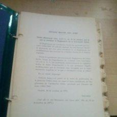 Militaria: REGLAMENTO DE LA CIRCULACION AEREA MINISTERIO DEL AIRE 1971. Lote 130683619