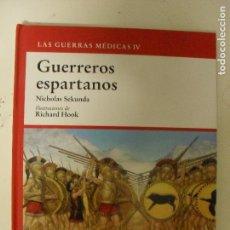 Militaria: GUERREROS ESPARTANOS, NICHOLAS SEKUNDA, ED. OSPREY,. Lote 130828384