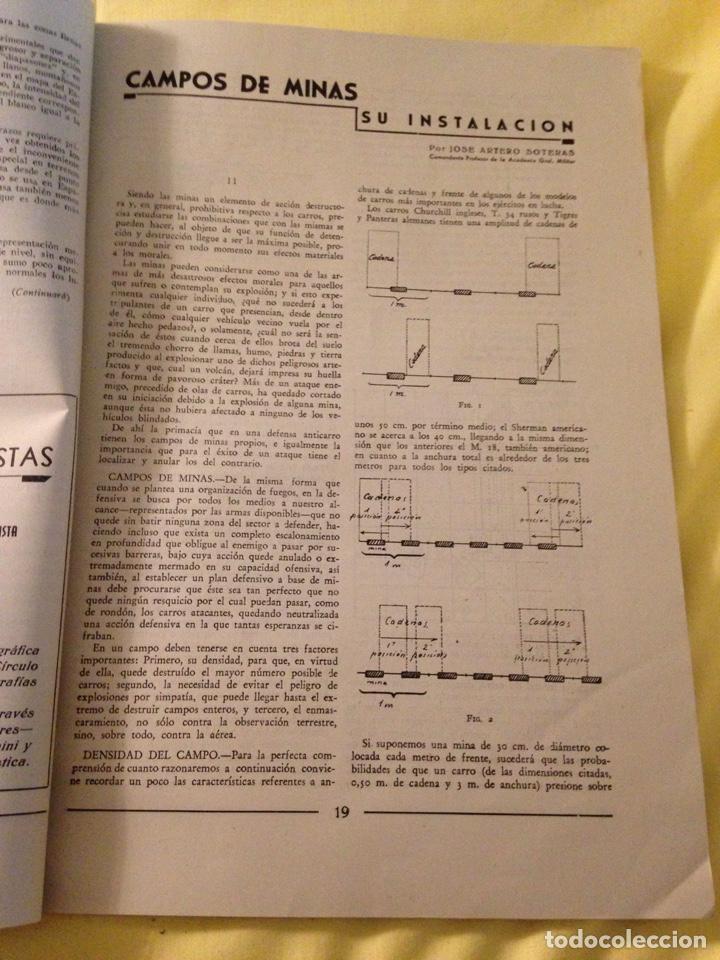 Militaria: Revista oficial guardia civil, abril 1945. - Foto 4 - 130914505