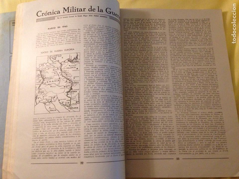 Militaria: Revista oficial guardia civil, abril 1945. - Foto 5 - 130914505