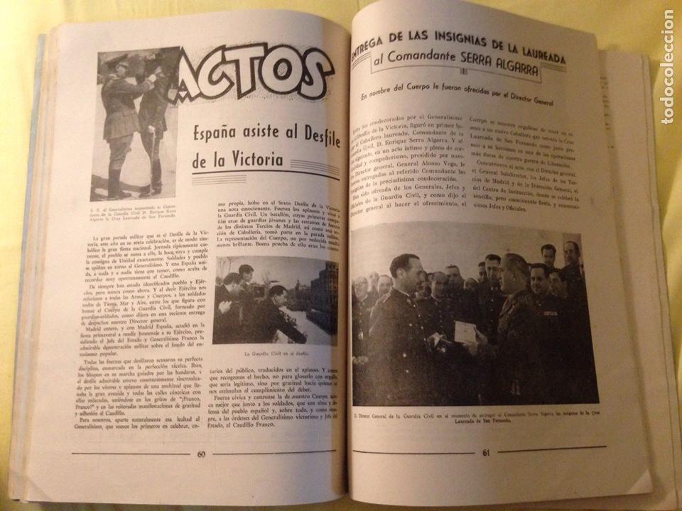 Militaria: Revista oficial guardia civil, abril 1945. - Foto 7 - 130914505