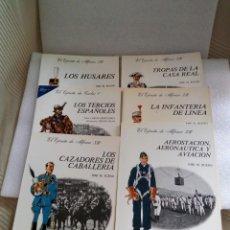 Militaria: CUADERNOS DE UNIFORMOLOGIA JOSE M. BUENO EL EJERCITO 6 TOMOS COLECCIÓN COMPLETA !! STOCK LIBRERIA. Lote 130964064