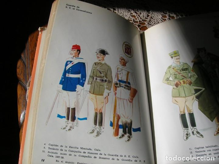 Militaria: Libro.Uniformes Militares de la Guerra Civil Española.En color .Por Jose Maria Bueno. - Foto 2 - 130964796