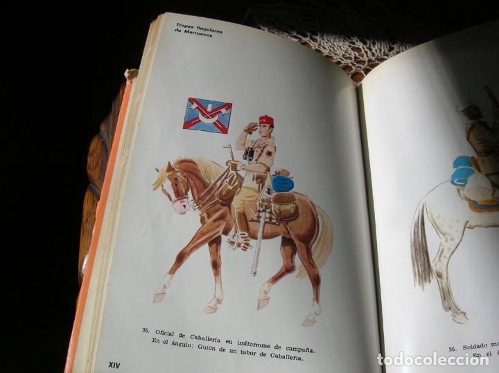 Militaria: Libro.Uniformes Militares de la Guerra Civil Española.En color .Por Jose Maria Bueno. - Foto 3 - 130964796