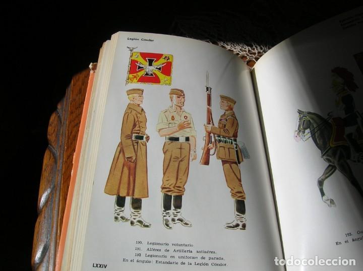 Militaria: Libro.Uniformes Militares de la Guerra Civil Española.En color .Por Jose Maria Bueno. - Foto 4 - 130964796