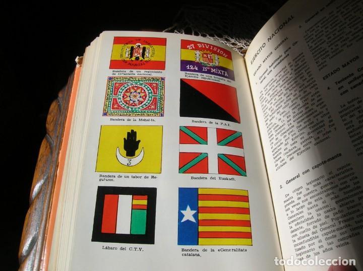 Militaria: Libro.Uniformes Militares de la Guerra Civil Española.En color .Por Jose Maria Bueno. - Foto 5 - 130964796