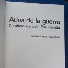 Militaria: ATLAS DE LA GUERRA MICHAEL KIDRÓN EDICIONES SERBAL. Lote 131149412