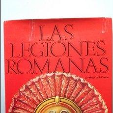 Militaria: UGO PERICOLLI: LAS LEGIONES ROMANAS. ED. COLUMNA. Lote 131169884