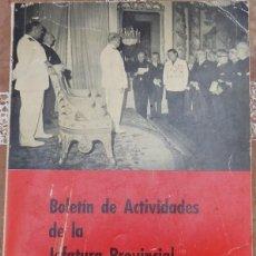 Militaria: FALANGE, BOLETIN DE ACTIVIDADES DE LA JEFATURA PROVINCIAL DEL MOVIMIENTO, SEVILLA 1962 Y 1963, RARIS. Lote 131478342