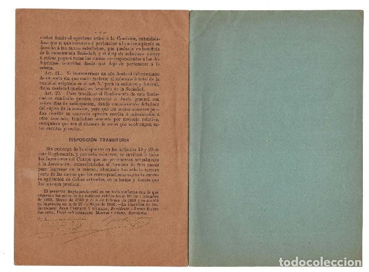 Militaria: REGLAMENTO LOS CASOS DE ENFERMEDADES GRAVES Y DEFUNCIONES. CUERPO INGENIEROS DE MONTES 1896 - Foto 4 - 198314302