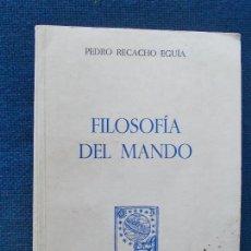 Militaria: FILOSOFIA DEL MANDO PEDRO RECACHO EGUÍA. Lote 131890038