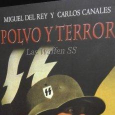 Militaria: II GUERRA MUNDIAL WAFFEN SS POLVO Y TERROR. Lote 132176250