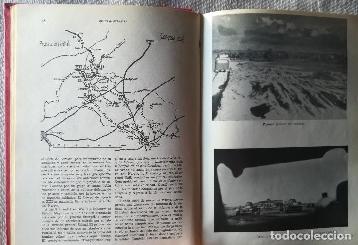 Militaria: Recuerdos De Un Soldado - General Guderian . Ilustrado con Fotos y Mapas . - Foto 3 - 132204486