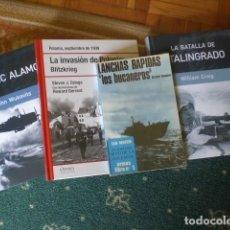 Militaria: LOTE LIBROS SEGUNDA GUERRA MUNDIAL. Lote 132211582