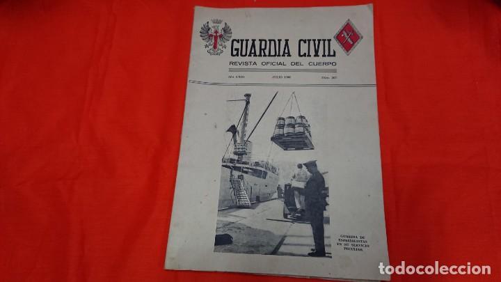 GUARDIA CIVIL - REVISTA OFICIAL DEL CUERPO - Nº 267 AÑO 1966 (Militar - Libros y Literatura Militar)