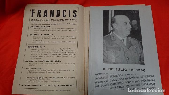 Militaria: GUARDIA CIVIL - REVISTA OFICIAL DEL CUERPO - Nº 267 AÑO 1966 - Foto 2 - 132759270