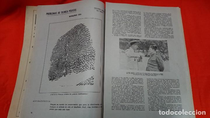 Militaria: GUARDIA CIVIL - REVISTA OFICIAL DEL CUERPO - Nº 267 AÑO 1966 - Foto 4 - 132759270