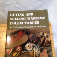 Militaria: LIBRO GUÍA SOBRE MILITARIA. TEXTO EN INGLES.. Lote 132890898
