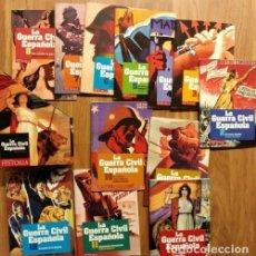 Militaria: B1258 - LA GUERRA CIVIL ESPAÑOLA. LA AVENTURA DE LA HISTORIA. COMPLETA. [12 LIBROS Y 12 DVD ].. Lote 133115030