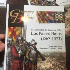 Militaria: GUERREROS Y BATALLAS Nº129 LOS PAÍSES BAJOS (1567-1573). Lote 224801311
