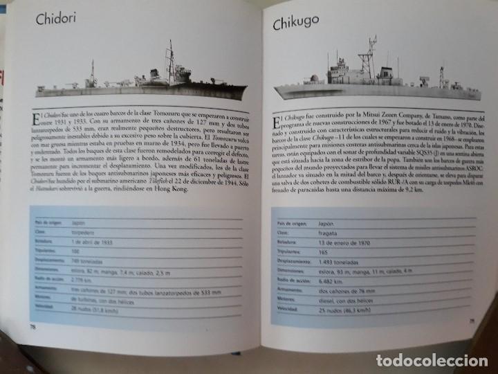 Militaria: DESTRUCTORES, FRAGATAS Y CORBETAS. ROBERT JACKSON. Editorial LIBSA. Año 2002. - Foto 4 - 133356370