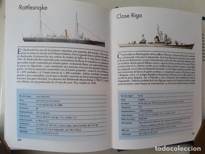 Militaria: DESTRUCTORES, FRAGATAS Y CORBETAS. ROBERT JACKSON. Editorial LIBSA. Año 2002. - Foto 5 - 133356370