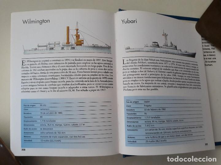 Militaria: DESTRUCTORES, FRAGATAS Y CORBETAS. ROBERT JACKSON. Editorial LIBSA. Año 2002. - Foto 6 - 133356370