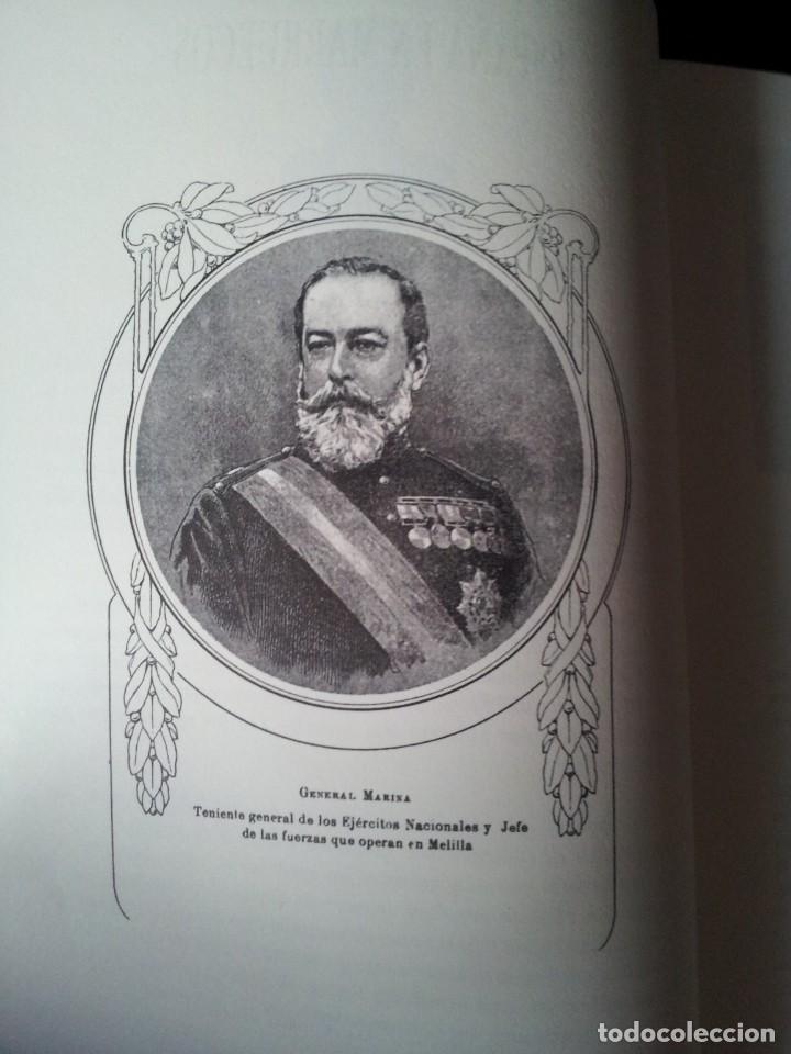 Militaria: AUGUSTO RIERA - ESPAÑA EN MARRUECOS, CRÓNICA DE LA CAMPAÑA DE 1909 - SEGUNDA EDICION 1910 - Foto 3 - 133756730