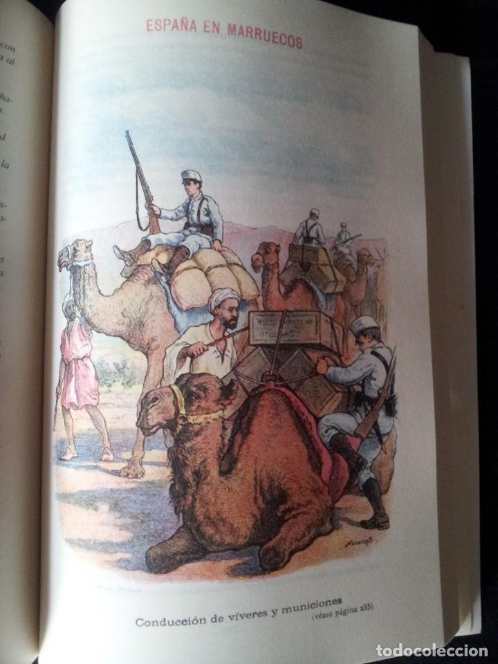 Militaria: AUGUSTO RIERA - ESPAÑA EN MARRUECOS, CRÓNICA DE LA CAMPAÑA DE 1909 - SEGUNDA EDICION 1910 - Foto 8 - 133756730