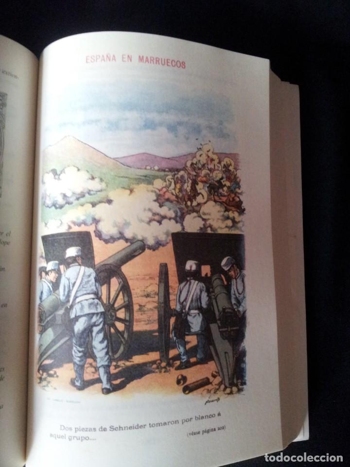 Militaria: AUGUSTO RIERA - ESPAÑA EN MARRUECOS, CRÓNICA DE LA CAMPAÑA DE 1909 - SEGUNDA EDICION 1910 - Foto 9 - 133756730
