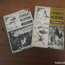 Militaria: SECOND WORLD WAR COMBAT WEAPONS OLD GREENWICH, CONN ARMAMENTO ALEMAN Y JAPONES ARMAS. Lote 133804166