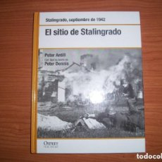 Militaria: OSPREY - 2ª GUERRA MUNDIAL : EL SITIO DE STALINGRADO (STALINGRADO, 1942). Lote 134061942