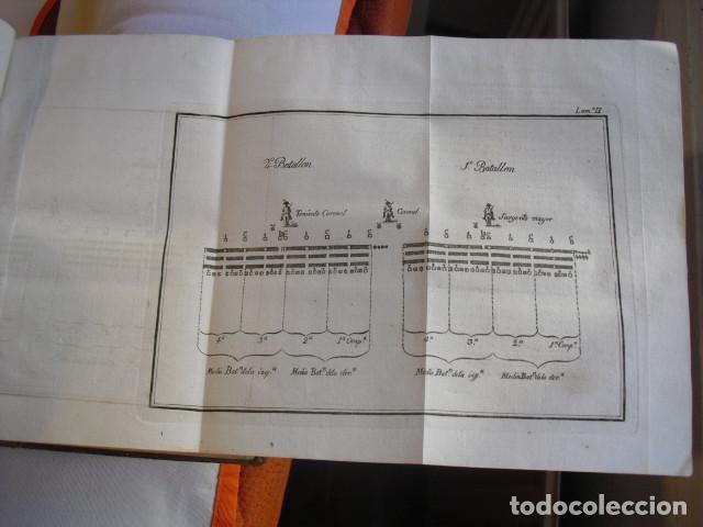 Militaria: 1812 REGLAMENTO PARA EL EXERCICIO Y MANIOBRAS DE LA INFANTERIA LXVIII LÁMINAS - Foto 6 - 134216418