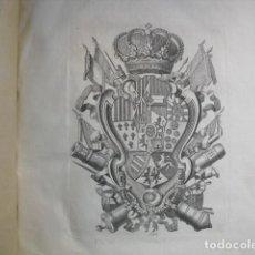 Militaria: 1774 REGLAMENTO DE CAVALLERIA Y DRAGONES MONTADOS CON 42 GRANDES LÁMINAS. Lote 134342654