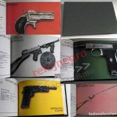 Militaria: 100 ARMAS DE FUEGO PARA LA HISTORIA LIBRO DE FICHAS - PISTOLAS FUSILES DE GUERRA REVÓLVER - EJÉRCITO. Lote 134410250