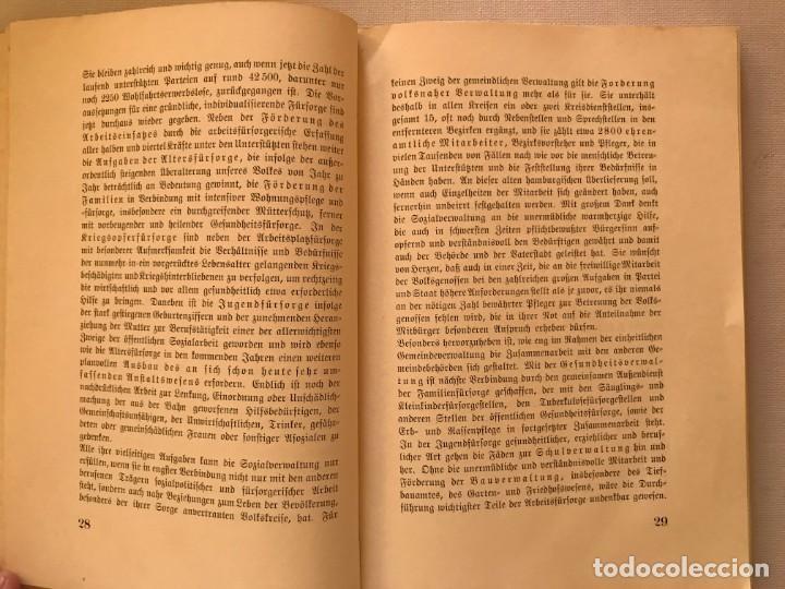 Militaria: Libro Hamburg im Dritten Reich, Die Sozialverwaltung 1939, Tercer Reich, Hitler, nazi, NSDAP - Foto 3 - 134637406