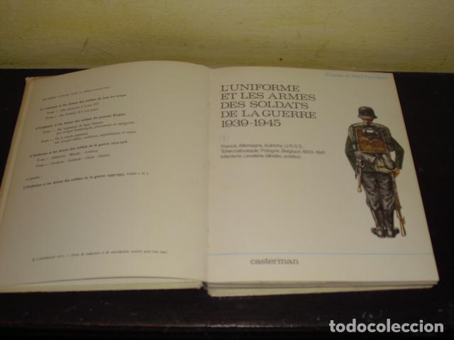 Militaria: L'UNIFORME ET LES ARMES DES SOLDATS DE LA GUERRE 1939-1945 - - Foto 3 - 134738066