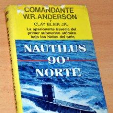 Militaria: NAUTILUS 90º NORTE - AUTOR: COMANDANTE W.R. ANDERSON - EDITORIAL JUVENTUD - 4ª EDICIÓN - ABRIL 1973. Lote 135006538