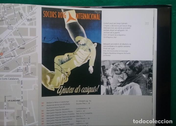 Militaria: GUERRA CIVIL LIBRO ATLES DE LA GUERRA CIVIL A BARCELONA - Foto 8 - 135037782