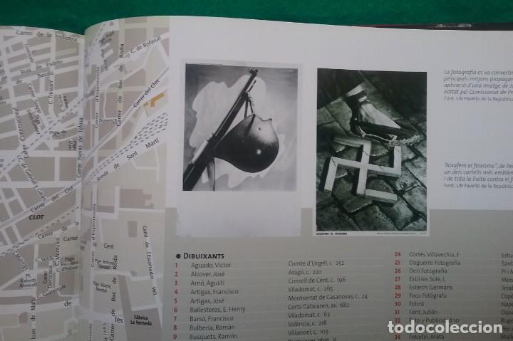 Militaria: GUERRA CIVIL LIBRO ATLES DE LA GUERRA CIVIL A BARCELONA - Foto 10 - 135037782