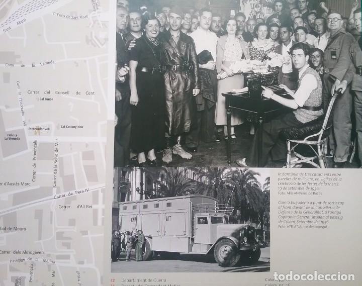 Militaria: GUERRA CIVIL LIBRO ATLES DE LA GUERRA CIVIL A BARCELONA - Foto 11 - 135037782