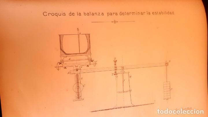 Militaria: BARCO - HUNDIMIENTO CRUCERO REINA REGENTE - 1896 - INFORME - Foto 3 - 135231898