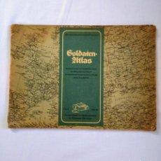 Militaria: SOLDATEN-ATLAS. OBERKOMMANDOS DER WEHRMACHT. 1941. Lote 135316866
